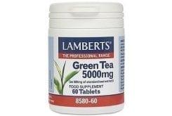 Lamberts Green Tea 5000 mg. 60tabs - Άριστες αντιοξειδωτικές ιδιότητες