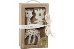 Sophie la Girafe so pure 616624 Σόφι η καμηλοπάρδαλη, 1 τεμάχιο & Φυσικός Δακτύλιος Οδοντοφυϊας, 1 τεμάχιο