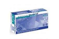 Semperguard Γάντια Nitrile Sapphire, Γάντια Νιτριλίου Powder Free Μπλε Medium 100 τεμάχια