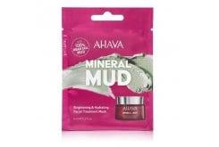 Ahava Mineral Mud Brightening &Hydrating Facial Treatment Mask, Μάσκα Προσώπου Για Ενυδάτωση & Λάμψη, 6ml