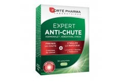 Forte Pharma Expert Anti-Chute Dietary Supplement for Men's Hair Loss, 30 caps