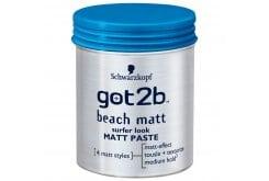 Schwarzkopf Got2B Paste Beach Matt Πηλός για Ατημέλητο Λουκ, 100ml