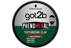 Schwarzkopf Got2b Phenomenal Texturizing Clay Πηλός Styling για Κοντά Μαλλιά, 100ml