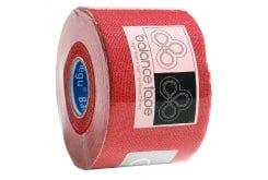 Balance Tape, Ταινία Κινησιοεπίδεσης, + 20% Περισσότερο Προϊόν - Σε οκτώ διαφορετικά χρώματα. 6m x 5cm - Κόκκινο