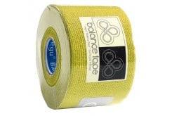 Balance Tape, Ταινία Κινησιοεπίδεσης, + 20% Περισσότερο Προϊόν - Σε οκτώ διαφορετικά χρώματα. 6m x 5cm - Κίτρινο