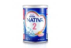 Nativa 2 Γάλα 2ης Βρεφικής Ηλικίας 6-12m σε Σκόνη, 400 gr