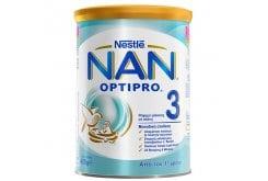 Nestle Nan Optipro 3 Ρόφημα Γάλακτος σε Σκόνη από τον 1ο Χρόνο, 400 gr
