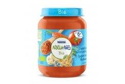 Nestle Naturnes Bio Βιολογικό Βρεφικό Γεύμα Ζυμαρικά σε Σάλτσα Κρέατος 6m+, 190gr