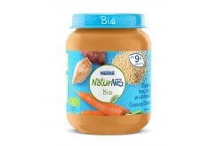 Nestle Naturnes Bio Organic Baby Lunch Pasta (couscous) with Chicken 9m+, 190gr
