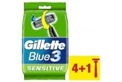 Gillette Blue 3 Sensitive Ξυραφάκια μιας χρήσης, 5 τεμάχια