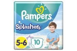 Pampers Splashers Μέγεθος 5-6 14+ kg Πάνες-Μαγιό, 10 τεμάχια