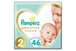 Pampers Premium Care No.2 (4-8kg) Πάνες, 46 τεμάχια