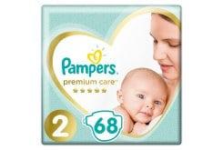 Pampers Premium Care No.2 (4-8kg) Πάνες, 68 τεμάχια