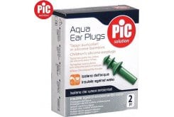 Pic Solution Sport Aqua Ear Plugs Ωτοασπίδες Σιλικόνης Παιδικές, 2τεμάχια