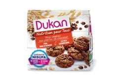 Dukan Expert Oat Bran Mini Cookies with Chocolate Chips, 100gr