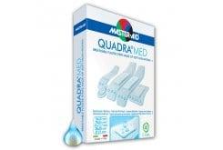 Masteraid Quadra Τσιρότα Άσπρα Σε Διάφορα Μεγέθη, 40 τεμάχια