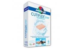 Masteraid Cutiflex Τσιρότα Διαφανές & Αδιάβροχα Φαρδιά, 10 τεμάχια