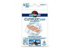 Masteraid Cutiflex Super Τσιρότα Διαφανές & Αδιάβροχα Σε Διάφορα Μεγέθη, 20 τεμάχια