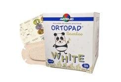 Master Aid Ortopad Junior Παιδικά Οφθαλμικά Αυτοκόλλητα για Στραβισμό Λευκά (6,7x5cm), 50 τεμάχια