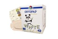 Master Aid Ortopad Medium Παιδικά Οφθαλμικά Αυτοκόλλητα για Στραβισμό Λευκά (7,6x5,4cm), 50 τεμάχια