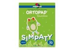 Master Aid Ortopad Medium Simpaty Cotton Παιδικά Οφθαλμικά Αυτοκόλλητα για Στραβισμό (7,6x5,4cm), 20 τεμάχια