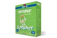 Master Aid Ortopad Junior Simpaty Cotton Παιδικά Οφθαλμικά Αυτοκόλλητα για Στραβισμό (6,7x5cm), 20 τεμάχια