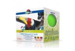 Masteraid  Performance Tape - Kinesio Tape Ελαστικό Αυτοκόλλητο Επίθεμα Σε Πράσινο Χρώμα, 5m x 5cm