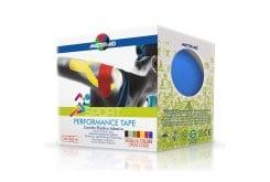 Masteraid  Performance Tape - Kinesio Tape Ελαστικό Αυτοκόλλητο Επίθεμα Σε Μπλέ Χρώμα, 5m x 5cm