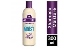 Aussie Miracle Moist Shampoo Για Διψασμένα Μαλλιά, 300ml