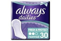 Always Dailies Normal Σερβιετάκια για Καθημερινή Χρήση, 30 τεμάχια