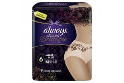 Always Discreet Boutique Plus 6 M, 9 pieces