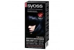 Syoss Color Professional Performance Βαφή Μαλλιών No.1-4 Μαύρο Μπλέ, 1τεμάχιο