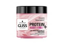 Schwarzkopf Gliss Protein+ Shine Mask, Μάσκα Για Ταλαιπωρημένα & Βαμμένα Μαλλιά, 400ml