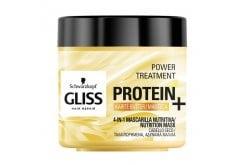 Schwarzkopf Gliss Protein+ Nutrition Mask, Μάσκα Για Ταλαιπωρημένα & Αδύναμα Μαλλιά, 400ml