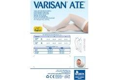 Varisan Α.Τ.Ε Κάλτσεs Αντιθρομβωτικέs σταθερήs συμπίεσηs 18mm μηρού σηλικόνης. Διασφαλίζουν τη σωστή ροή του αίματοs ακόμη και όταν ο ασθενήs δεν μπορεί να μετακινηθεί, καθώs είναι κατάλληλεs και για την ώρα του ύπνου - Large