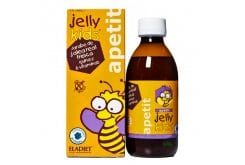 Eladiet Jelly Kids ApetitΠαιδικό Σιρόπι για την αύξηση της όρεξης & την ενίσχυση του ανοσοποιητικού, με γεύση φράουλα, 150ml