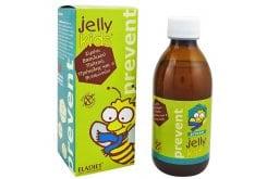 Eladiet Jelly Kids Prevent Παιδικό Συμπλήρωμα Διατροφής Βασιλικού Πολτού Χωρίς Γλουτένη, με Γεύση Φράουλα, 150ml