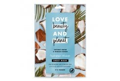 Love Beauty And Planet Coconut Water & Mimosa Flower Vegan Sheet Mask, For Rejuvenation & Hydration, 1x21ml