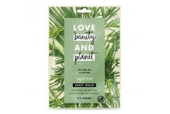 Love Beauty And Planet Rosemary & Vetiver Vegan Sheet Mask, Μάσκα Προσώπου Για Αποτοξίνωση, 1x21ml