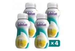 Nutricia Cubitan Θρεπτικό Συμπλήρωμα Διατροφής για τη Διαιτητική Διαχείριση Ασθενών με Έλκη Κατάκλισης - Βανίλια, 4 x 200ml