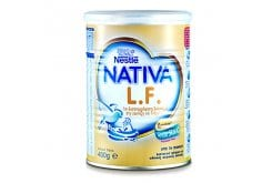 Nativa LF Γάλα για Βρέφη & Παιδιά με Συμπτώματα Διάρροιας ή Δυσανεξία στη Λακτόζη, 400gr