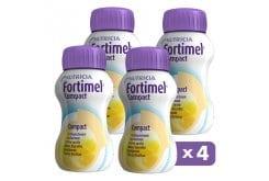 Nutricia Fortimel Compact Protein Βανίλια - Ρόφημα για Πρόσληψη Όλων των Απαραίτητων Θρεπτικών Συστατικών, Υψηλής Θερμιδικής Αξίας, 4 x 125ml