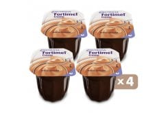 Nutricia Fortimel Creme Chocolate, 4 x 125gr