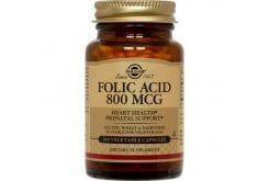 Solgar Folacin (Folic Acid) 800μg Φυλλικό οξύ,100tabs