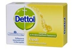 DETTOL Soap Fresh, Dettol Soap Bar Fresh 100gr, Everyday protection against harmful germs