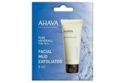 Ahava Time To Clear Facial Mud Exfoliator, Απολέπιση Προσώπου, 8ml