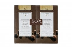 Korres PROMO -50% ΣΤΗ ΔΕΥΤΕΡΗ ΒΑΦΗ Argan Oil Advanced Colorant 9.0 Ξανθό Πολύ Ανοικτό Μόνιμη Βαφή Μαλλιών με Τεχνολογία Pigment Lock που Κλειδώνει το Χρώμα, 50ml