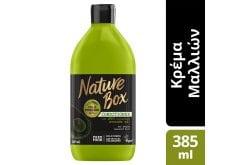 Nature Box Conditioner Avocado Κρέμα Μαλλιών Έλαιο Avocado Για Επανόρθωση, 385ml
