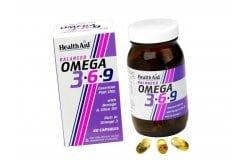Health Aid OMEGA 3 6 9, 90 κάψουλες