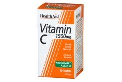 Health Aid Vitamin C 1500mg Prolonged Release, 30tabs